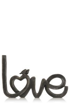 Give your home some finishing touches this season with simple but stylish accessories. We love this Love Sculpture from Next. Next At Home, Next Uk, Latest Fashion For Women, Mens Fashion, Hallway Decorating, Color Of The Year, Where The Heart Is, Black Love, Moda Masculina