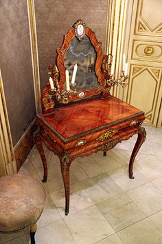 Dressing table - Palazzo Mirto  #Palermo  @Mike Powell