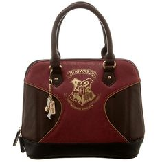 Super stylish Harry Potter domed handbag with Team Quidditch charm. #harrypotter https://1923mainstreet.com/collections/harry-potter-collection/products/harry-potter-handbag-hogwarts-bag-with-charm