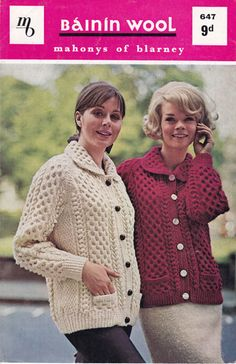 LINK - Classic Aran Patterns for sale