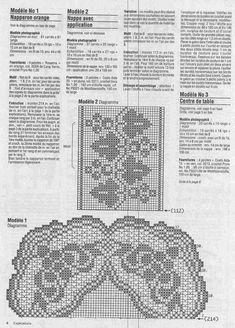 "Photo from album ""Elena ouvrages 02 Filet"" on Yandex. Crochet Diagram, Filet Crochet, Crochet Lace, Crochet Patterns, Crochet Edgings, Crochet Doilies, Views Album, Image, Home Decor"