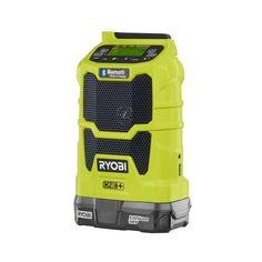Ryobi ONE  18-Volt Radio, Fan and Vac Kit-P1889 - The Home Depot