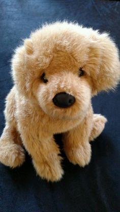 "Golden Retriever Stuffed Dog 14"" Douglas Cuddle Toys Plush Pet 18 Mos and Up #Douglas"