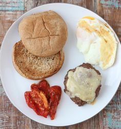 Can you eat a burger for breakfast? OF COURSE YOU CAN! Breakfast Burger