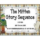 Mitten character sequence cards to accompany the book-free