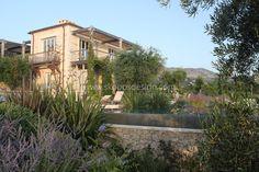 stone house greece  architecture