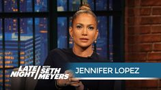 """Jennifer Lopez: """"There Are Worse Movies Than Gigli!"""" - Late Night with Seth Meyers Late Night Show, Seth Meyers, After All These Years, Late Nights, Jennifer Lopez, Pony Tails, Buns, Movies, Braids"""