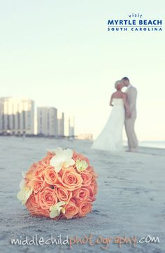 Do you dream of a beach wedding? Experience the natural beauty and captivating romance of Myrtle Beach, South Carolina! Click to find everything you need to plan a Myrtle Beach wedding or honeymoon - http://www.visitmyrtlebeach.com/things-to-do/weddings/?cid=soc_post_pin_promo_60_days_wedding_110414.