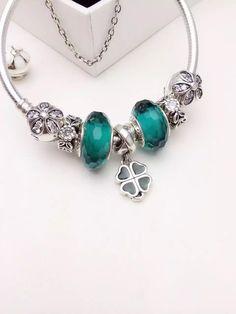 50% OFF!!! $199 Pandora Charm Bracelet. Hot Sale!!! SKU: CB01543 - PANDORA Bracelet Ideas