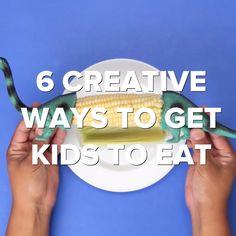 6 Creative Ways To Get Kids To Eat Healthy #parents #kids #food