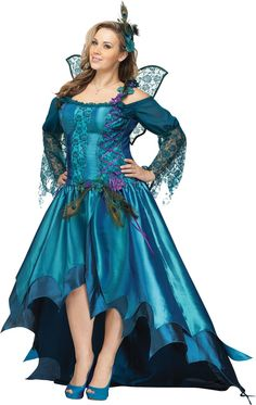 Plus Size Peacock Queen Costumes, Plus Size Sexy Fairy Costumes, Plus Size Fairy Queen Costume, Plus Size Sexy Costumes
