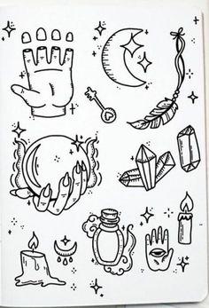 Flash Art Tattoos, Body Art Tattoos, Small Tattoos, Cool Tattoos, Kritzelei Tattoo, Doodle Tattoo, Doodle Art, Tattoo Quotes, Tattoo Sketches