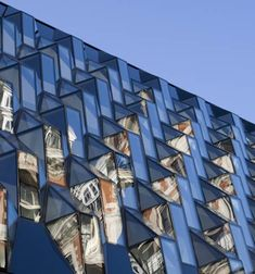 Architects Future Systems have completed the facade of a building on Oxford Street in London.