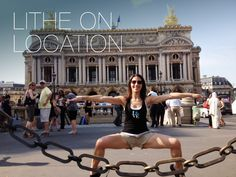 #LitheonLocation from #LitheInstructor Cheri Tolin in front of L'Opera in Paris!  Cheri, I love the look that the couple on the left is giving you.  Great shot!