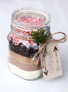 veganinspo: Vegan Candy Cane Hot Cocoa Mix