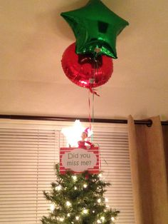 elf on the shelf - arrival 2015