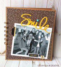 La aventura de los buhos: Mini-álbum smile, recuerdos en familia :)