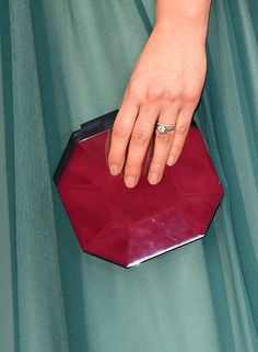 America's simple nude nail elongated her fingers at the Oscars.                  Image Source: Getty / Jaso...