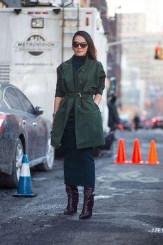 The Big Chill: Street Style at New York Fashion Week - HarpersBAZAAR.com