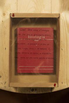 «Quel libro rosso d'istologia – che ha più di quaranta anni, ed è stato il primo che ho acquistato, e speravo il primo di una lunga serie – è sempre lì, sulla libreria di casa, a ricordarmi ogni volta ciò che sarei potuta diventare».