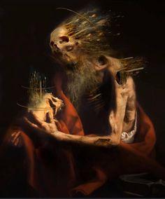 Art Romantique, Renaissance Kunst, Dark Artwork, Baroque Art, Macabre Art, Scary Art, Academic Art, A Level Art, Expressive Art