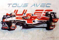 kevinpaigeart.com    Jules Bianchi Tribute