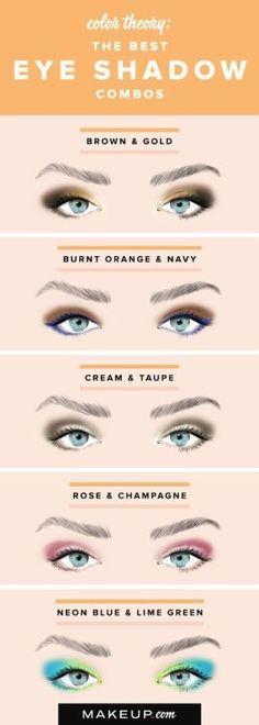 Cool eyeshadow looks for light blue eyes!