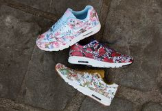The Latest Nike Air Max 1 City Collection Goes Floral - SneakerNews.com
