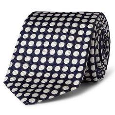 Drake's Woven Silk Tie, £95.