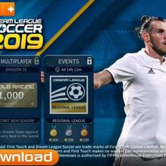 New DLS2019 APK Mod Android Game Download Football Video Games, Soccer Games, Barcelona Team, Android Mobile Games, Play Hacks, Pro Evolution Soccer, App Hack, Player Card, Ios