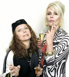Don't just like Absolutely Fabulous - love the show! Champagne swilling Edina and Patsy. Need to see the new episodes!