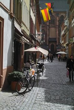 I miss Heidelberg, Germany. This is where I graduated from high school.