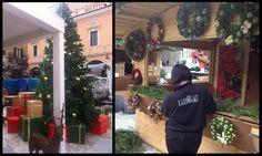 La Floreale offre gli alberi gia addobbati, di verie forme e tutte misure, gli addobbi per alberghi,  ristoranti, negozi e centri commerciali: per le vetrine e gli interni dei negozi.    La Floreale di Stefania Via Trionfale 8341 - 00135 Roma www.laflorealedistefania.it