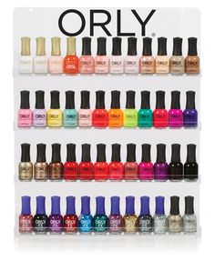 Orly Color Chart Find This Pin And More On Nails By Lexilemonade See Expositores Para Salon 21025