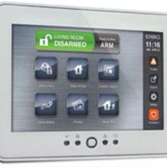 """DSC 7"""" Alarm Keypad by Dyezz."""