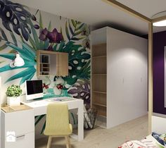 Pokój nastolatki 1 - Pokój dziecka, styl nowoczesny - zdjęcie od Agata Hann Architektura Wnętrz