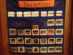 Does your child need assistance with long term plans, or a monthly schedule...  Check out this VISUAL calendar....