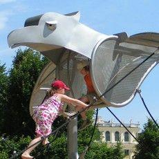 Schönbrunn maze, playground