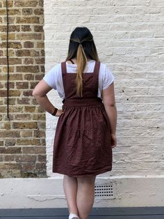 The Fleur Pinafore // Untitled Thoughts - Self Assembly Required