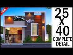 House Balcony Design, Single Floor House Design, Duplex House Design, Home Room Design, Home Design Plans, Front Elevation Designs, House Elevation, Architect Design House, Front Gate Design