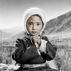 Absolutely beautiful portrait by Phil Borges - Tibet