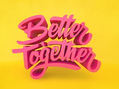 Better Together Original: http://ift.tt/1iqexB7