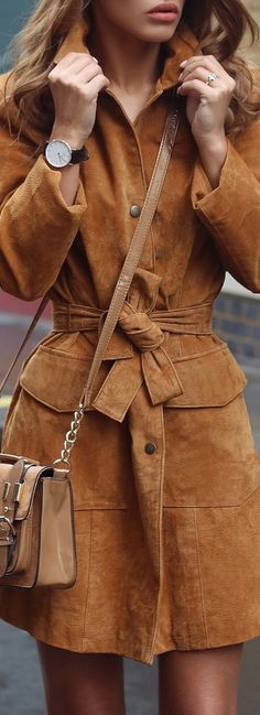 OMG! Check out this Suede trench coat! http://www.amazon.com/gp/product/B00GK2G5E2