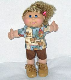 Cabbage Patch Doll Hiker Outdoor outfit with by Dakocreations
