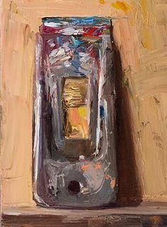 13cm x 18cm, oil on board Painting status: SOLD Daily painting for Friday 27 March, 2015 daily painting titled Palette scraper