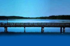 'Die Seebrücke' von Dirk h. Wendt bei artflakes.com als Poster oder Kunstdruck $18.03