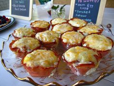 Ham Egg Cups with Cheese