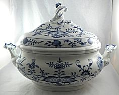 Soup Tureen Meissen Blue Onion