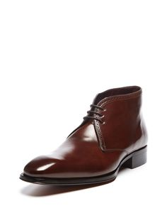 Leather Chukka Boot  Chukka #BootMen #Shoes