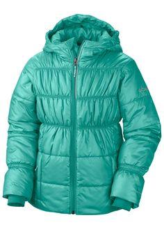 28211789544 Columbia Girls Shimmer Me II Jacket (Oceanic)